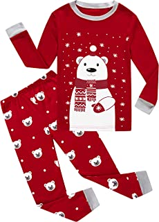Family Feeling Little Boys Girls Child Pajamas Sets 100% Cotton Toddler Pjs