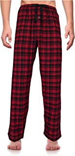 Casual Trends Classical Sleepwear Men's 100% Cotton Flannel Pajama Pants,