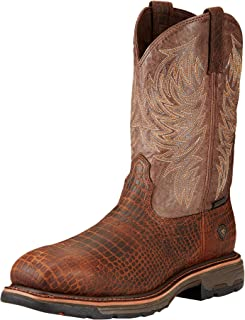 Best ariat men's workhog 11 steel toe work boots Reviews