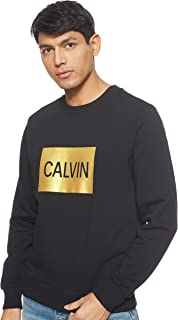 Calvin Klein Sweatshirt Man Modllo Calvin Box Regular Black