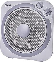 Clikon Box Fan, 10 Inch, 30W- CK2215, milk white