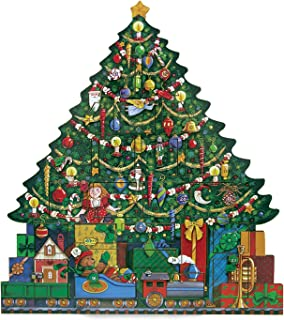 Byers' Choice Christmas Tree Advent Calendar #AC02 from The Advent Calendars Collection