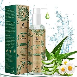 Gel de Aloe Vera con Manzanilla 100% Natural Aloe Vera Crema para Hidratante para Pelo y Piel Ideal para Pieles Secas y Q...