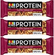12 x 50g Kind Protein Gluten Free Bars Caramel Energy Nutritious Healthy Estimated Price : £ 19,99