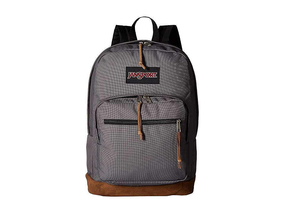 JanSport Right Pack (Grey Horizon) Backpack Bags