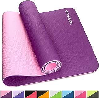 Neuf GAIAM Sol Sec Grip Yoga Tapis 5 mm LIVRAISON GRATUITE