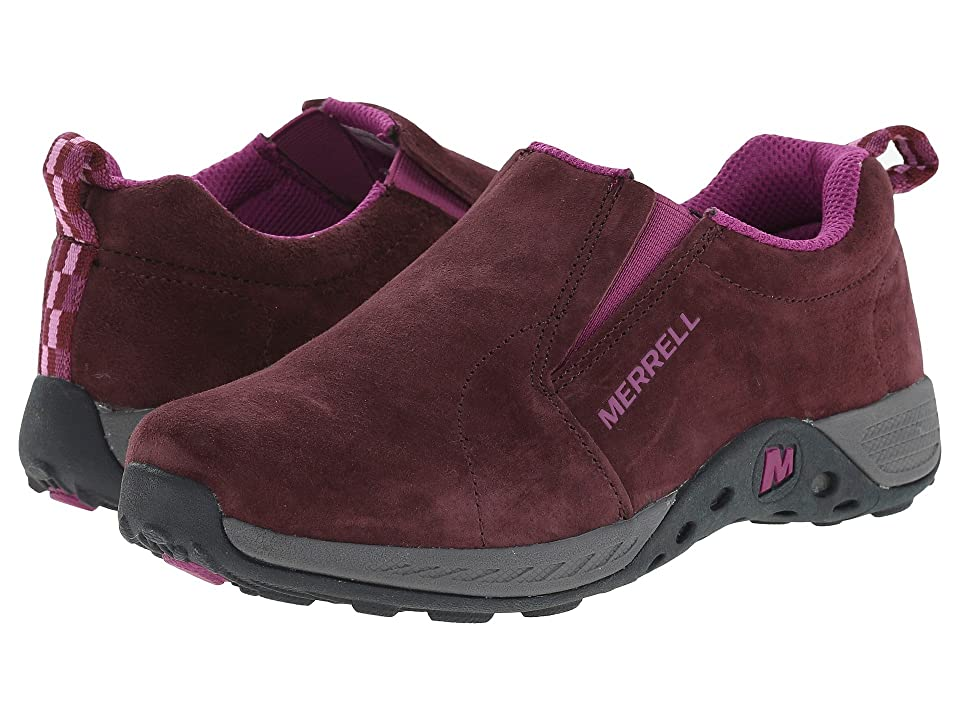 Merrell Kids Jungle Moc Sport (Little Kid) (Berry/Grey) Girls Shoes