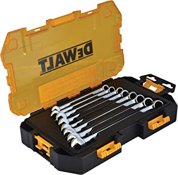 Dewalt DWMT73810 8-Piece Stackable Combination Wrench Set (Metric)