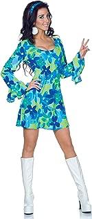 Underwraps Costumes Women's Retro Hippie Costume - Wild Flower
