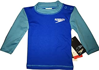 Speedo UV Long Sleeve Swim Tee - Kids Extra Small - Blue