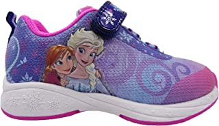 Frozen Sneakers Shoes for Girls with Elsa and Anna