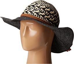 RBL4791 Mixed Paper Crown Hat with Tassel