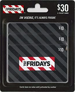 T.G.I. Friday's Gift Cards, Multipack of 3