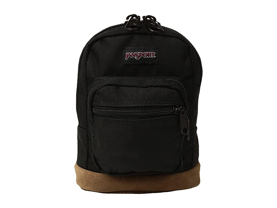 JanSport Right Pouch (Black) Backpack Bags