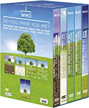 Who Do You Think You Are: Complete BBC Series 1-4 (Plus: How to Trace Your Family and Nicky Campbell Adoption) [Region 2]