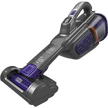 BLACK+DECKER BHHV520BFP-QW - Aspirador de mano sin cable 18V (2.5Ah) SmartTech especial mascotas: Amazon.es: Hogar