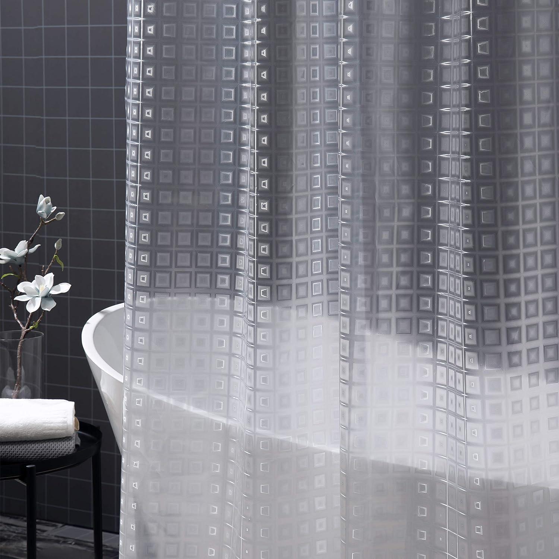 Soldering Arcedo Plastic Shower Curtain Clear EVA 8G Liner Many popular brands