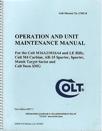 Colt Cm118 Manual Books