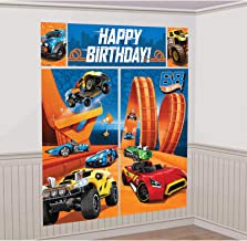 Personalized Birthday Banner for Hot Wheels Theme Party 24x 48