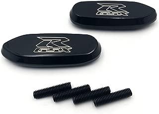 Mirror Block Off Base Plates For Suzuki Gsxr 600 750 1000 Gsx-R 2006-2008 Black