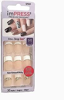 Kiss ImPress Press-On French Manicure Medium Gel Nails 57684 Zen Zone
