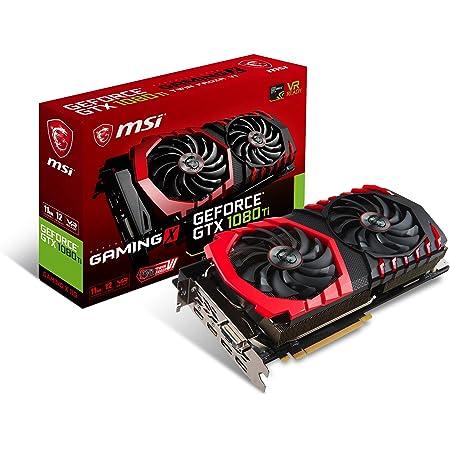 MSI GeForce GTX 1080 Ti GAMING X 11G グラフィックスボード VD6302