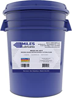 Miles Sol Kut Mineral Based Water Soluble Cutting Fluid 5 Gal. Pail