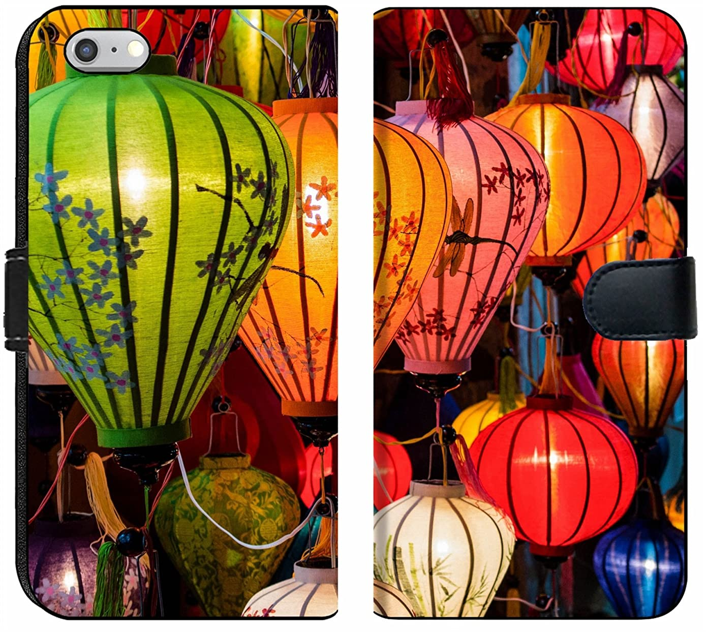 Apple iPhone 6 Plus and iPhone 6s Plus Flip Fabric Wallet Case Image ID: 31089698 Traditional Lamps in Old Town Hoi an Central Vietnam