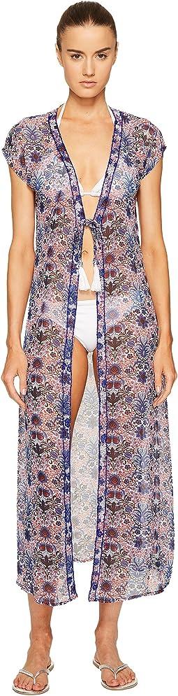 Letarte - Embellished Tie Front Tunic
