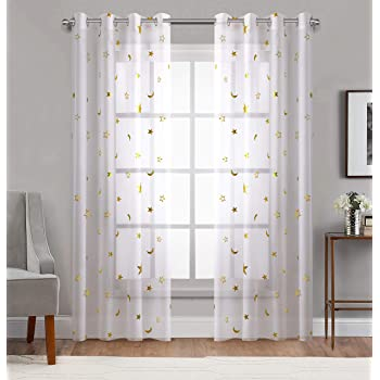 Curtains Drapes Harry Potter Bedroom Blackout Window Curtain 2 Panel Living Room Curtains Drape Home Garden