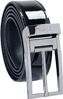 Versace 100/% Leather Black Men/'s Double Wrap Belt Sz 38 42 44