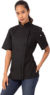 women's fitted chef jackets