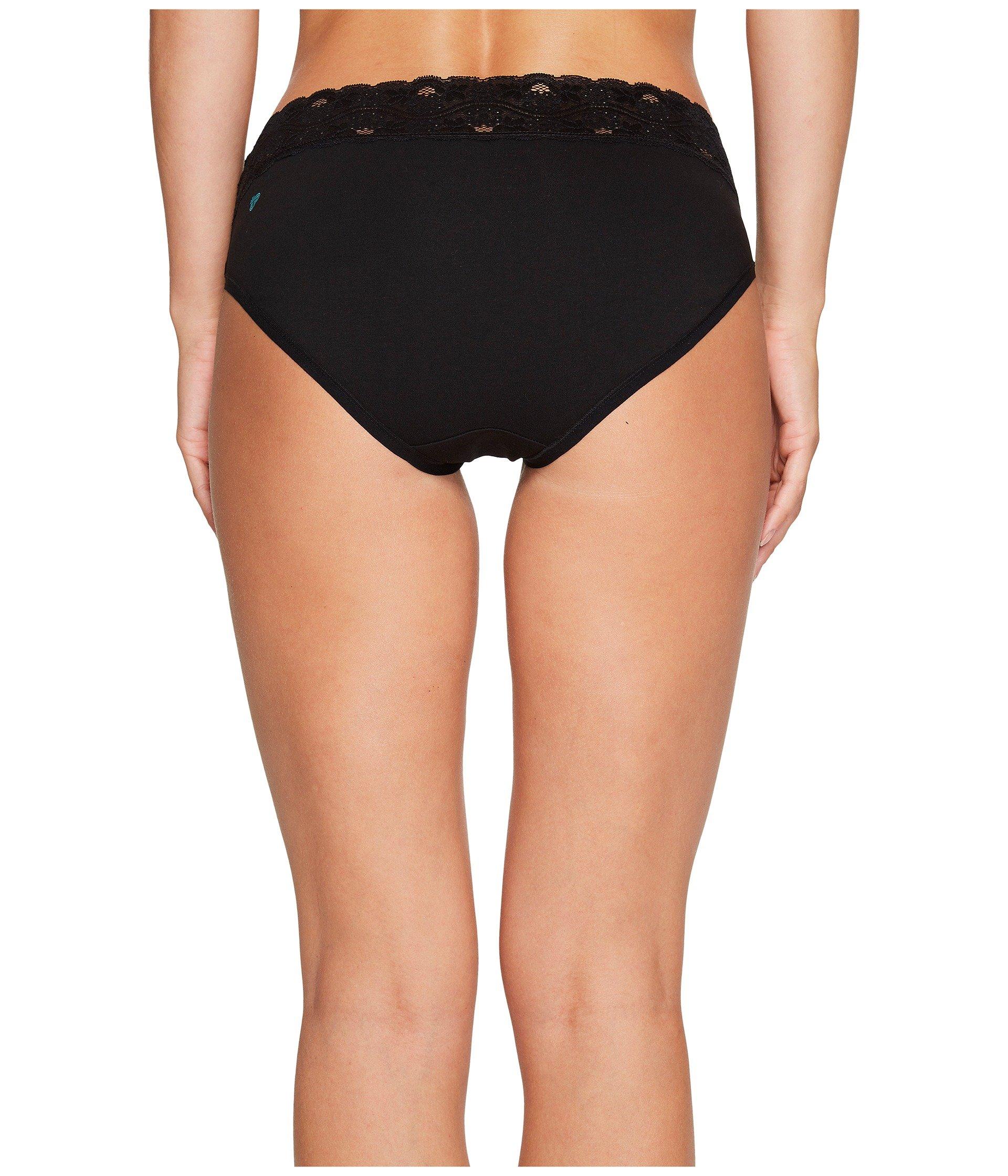 Pact waist 4 Lace Brief pack Black Z0gZv7xrwq