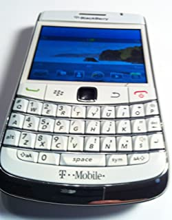 BlackBerry 9780 Bold locked Smartphone with 5 MP Camera, Bluetooth, 3G, Wi-Fi, and MicroSd Slot --T-Mobile Version with no Warranty (white)