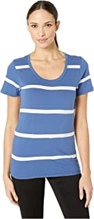 Pendleton Women's Short Sleeve Pima Stripe Tee