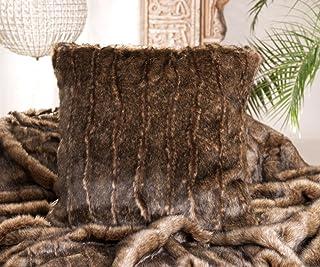 Kissen Wohnen & Accessoires Coussin Imitation Fourrure–Fourrure Coussin–Fausse Fourrure Coussin 45X 45cm Flanelle