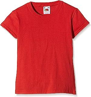 Fruit of the Loom SS079B, Camiseta Para Niños