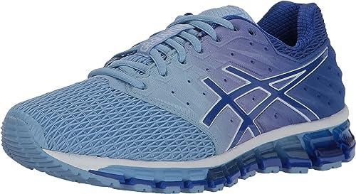 ASICS chaussures, US Medium 5 blanc, violet bleu bleu Airy