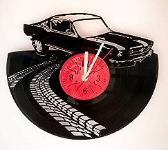 clocks made from car parts