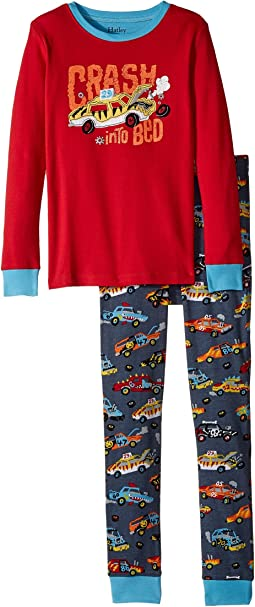 Monster Cars Appliqué Pajama Set (Toddler/Little Kids/Big Kids)