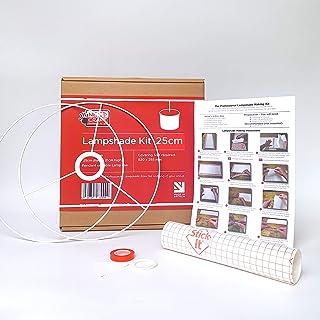 Kit de fabrication d'abat-jour 25cm