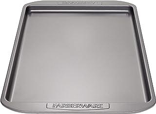 Farberware Nonstick Bakeware 11-Inch x 17-Inch Cookie Pan، Gray