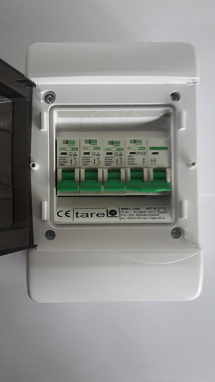 3 way garage,shed consumer unit/fuse box,63a isolation switch and 3 mcb's  (2 x 32amp, 6amp mcb's): amazon.co.uk: lighting  amazon.co.uk
