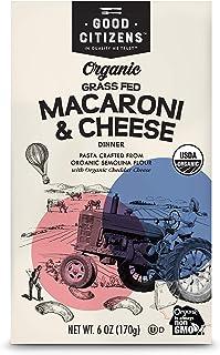 Good Citizens Organic Grass Fed Macaroni and Cheese 12pk