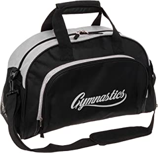 e776d445ba LISH Gemma Gymnastics Duffel Bag - Girl s Travel Sports Gym Bag w Shoe  Compartment (
