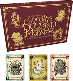 Square Enix Chocobo's Crystal Hunt: Dungeons & Monsters Card Game Expansion