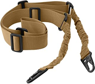 Accmor 2 Point Rifle Sling Extra Long Gun Sling, Two Point Traditional Sling Standard Strap with Metal Hook for Outdoor Sports