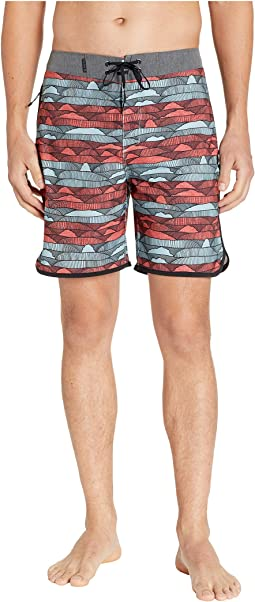 "Phantom Lines 18"" Boardshorts"