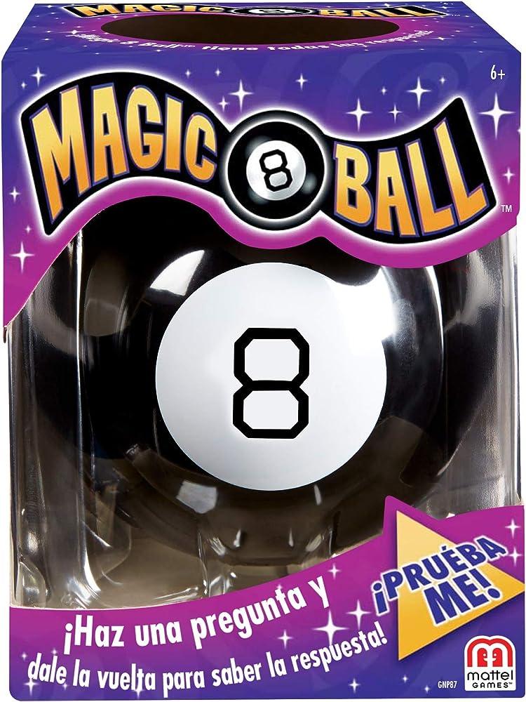 Mattel games,sfera magic 8 ball GNP87