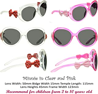 2d4fe0ae7a77 Girls Sunglasses Pink Butterfly Heart Princess bow, 2 Pairs Set, UV 100%  Protected